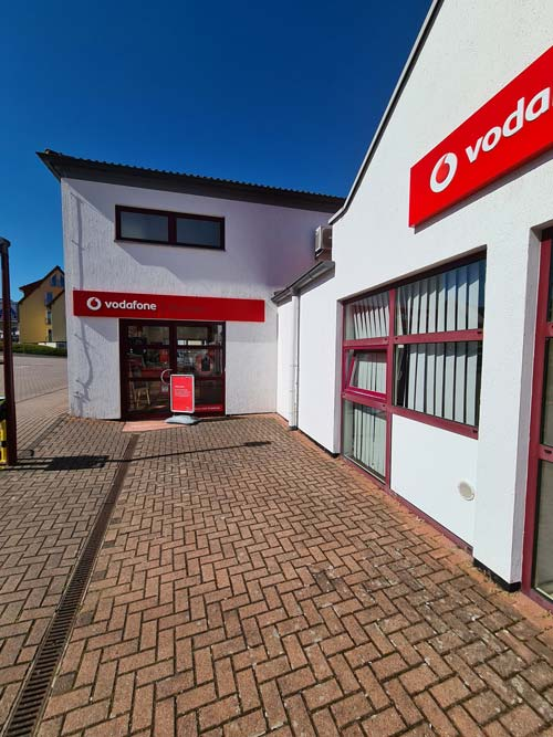 vodafone shop in Wolfhagen Agentur Axel Sartor